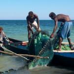 Princesse du Lagon Bungalow à Tuléar Ifaty Madagascar, pêcheure et pirogues