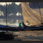 Princesse du Lagon Bungalow à Tuléar Ifaty Madagascar, pêcheur le matin