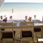 table sur mer
